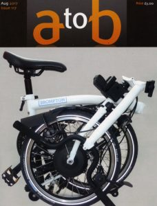 'A to B' magazine e-Brompton review issue