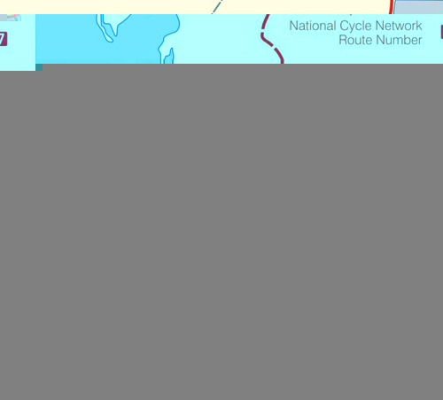 C2C Sea to Sea Sustrans Map