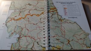 C2C Coast to Coast Cycle Map and Guide Books