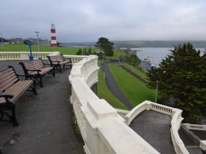 Plymouth - the southern end of the Devon Coast to Coast Cycleway