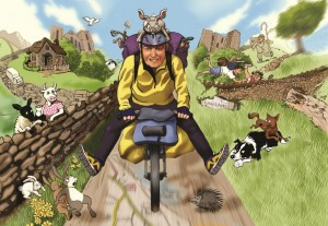 Top 5 Sustrans Cycle Routes, by Mike Carden