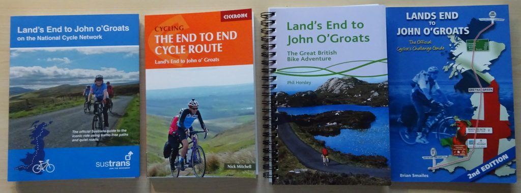 Land's End to John O'Groats Cycle Guide Books