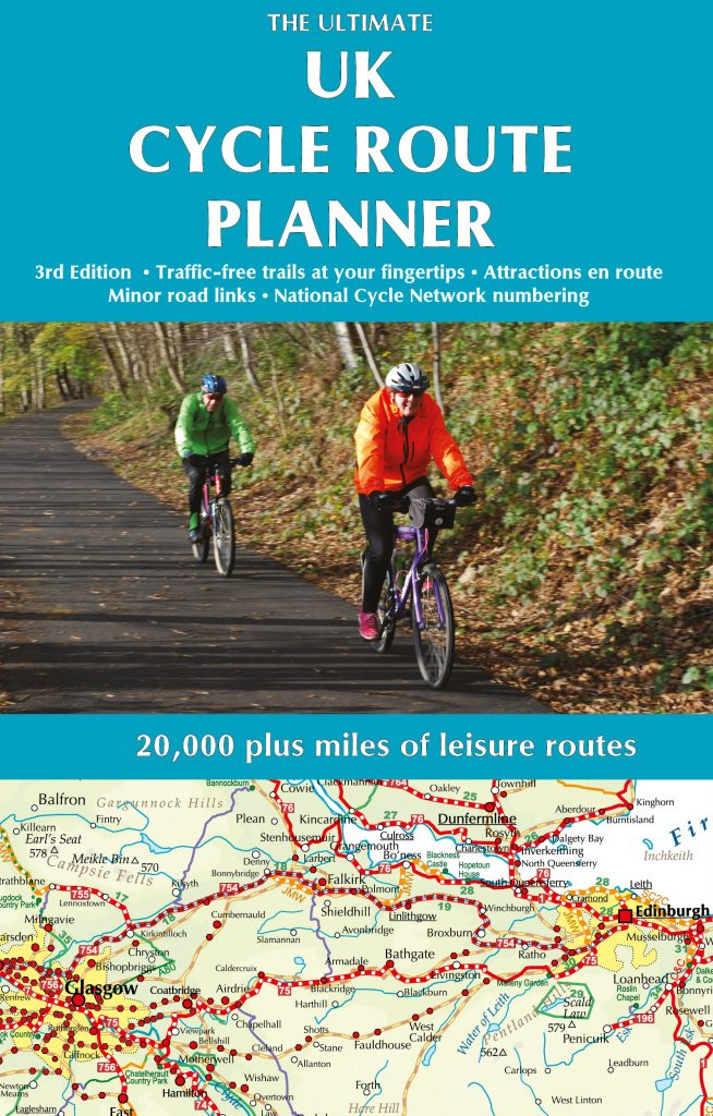 Ultimate UK Cycle Route Planner from Excellent Books