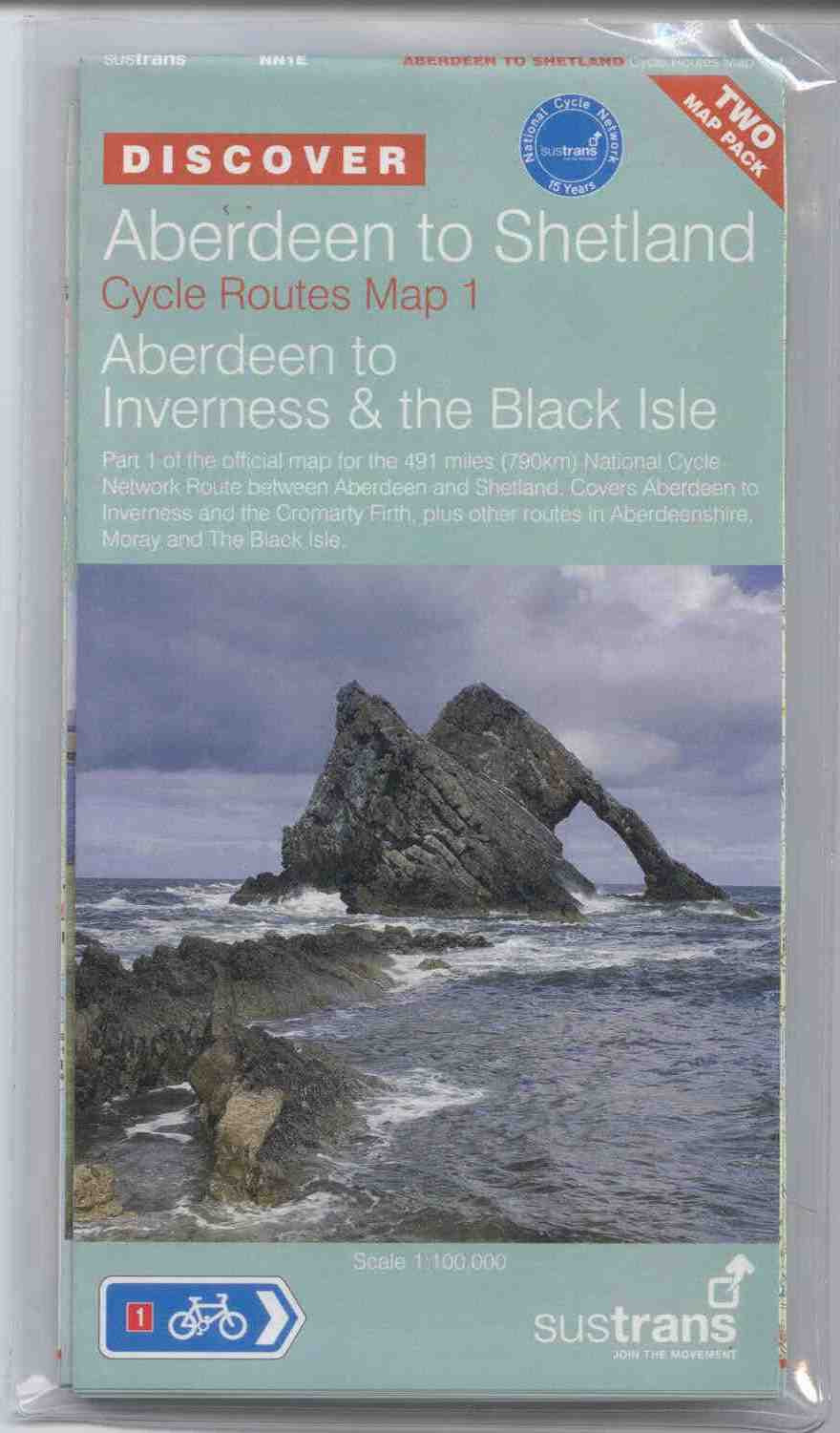 Aberdeen to Shetland - Double Map Set - Sustrans