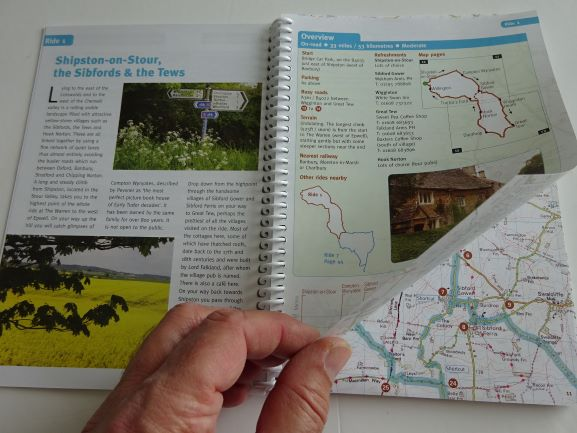 Around Oxford Cycle Tours - sample pages