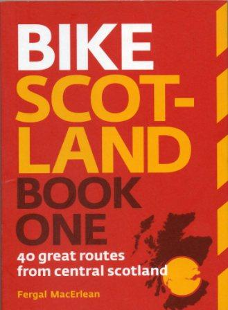 Bike Scotland One cycle guide book