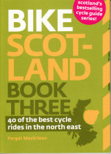 Bike Scotland Three cycle route guide book