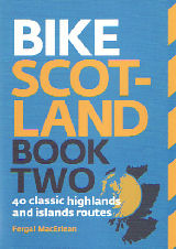Bike Scotland Two cycle route guide book