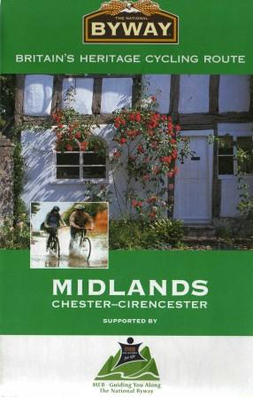 West Midlands cycle route maps and guide books