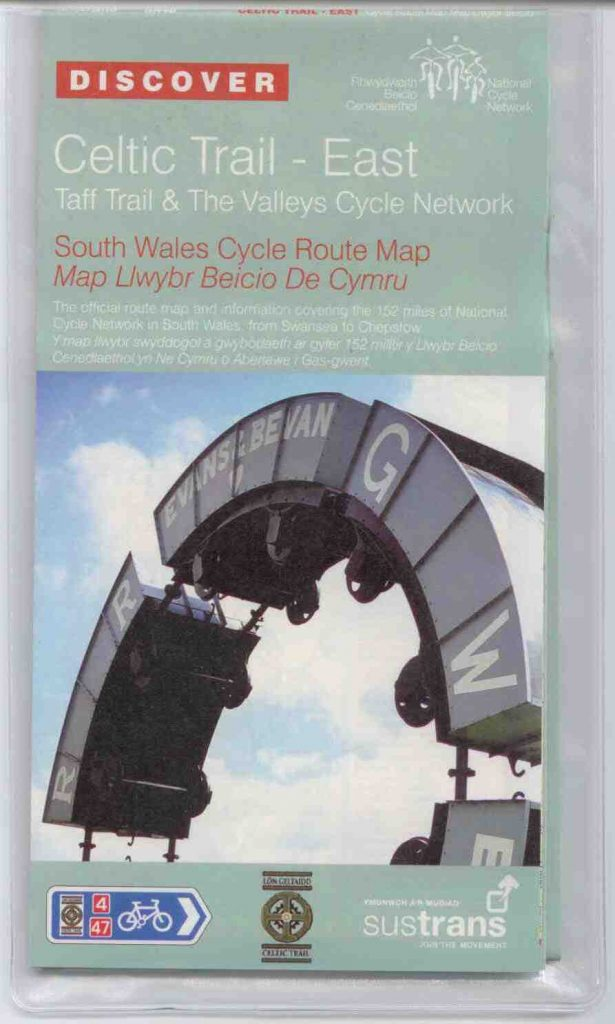 Celtic Trail East Sustrans Map