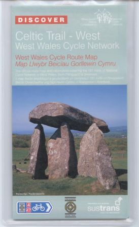 Celtic Trail West Sustrans cycle map