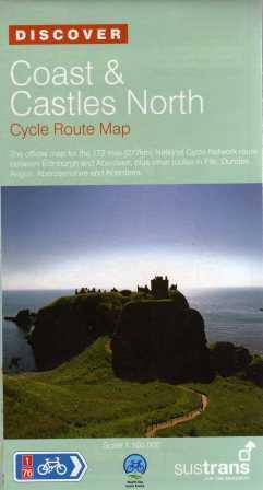 Coast & Castles North Sustrans map