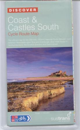 Coast and Castles Cycle Route map and guide books