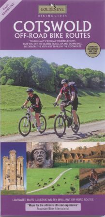Cotswolds Off-Road Bike Routes Goldeneye Map