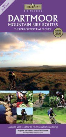 Dartmoor Mountain Bike Routes Goldeneye map