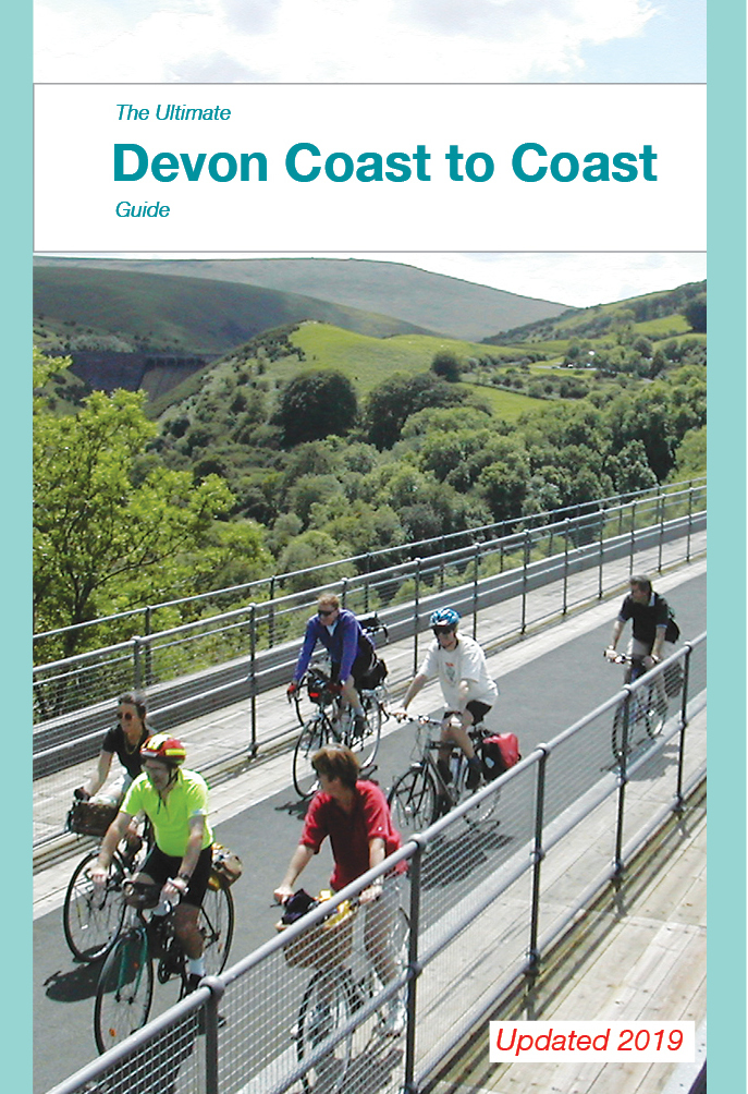 Devon Coast to Coast guide book - updated 2019 edition