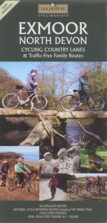Exmoor and North Devon Goldeneye Cycling Map