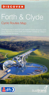Forth and Clyde Sustrans map