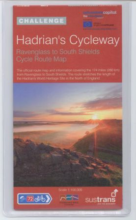 Hadrian's Cycleway map and guide books