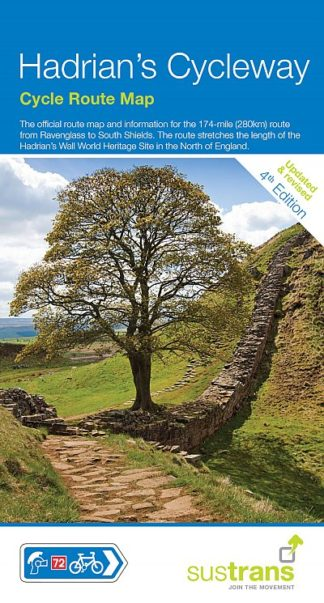 Hadrian's Cycleway Sustrans Map - 2017