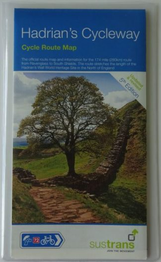Hadrian's Cycleway Sustrans Map - 2019