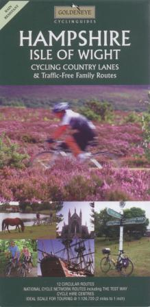 Hampshire and Isle of Wight Goldeneye Cycling Map
