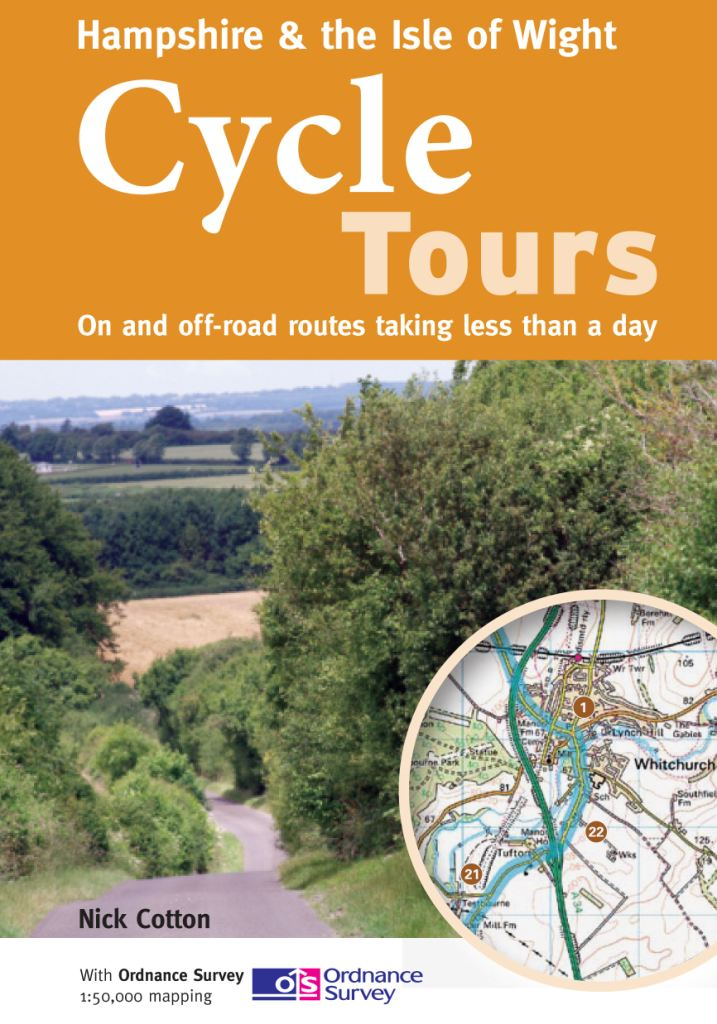 Hampshire cycle route maps and guide books