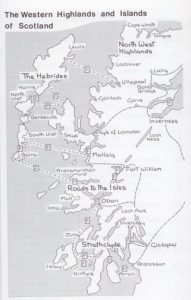 Isles and Highlands Map
