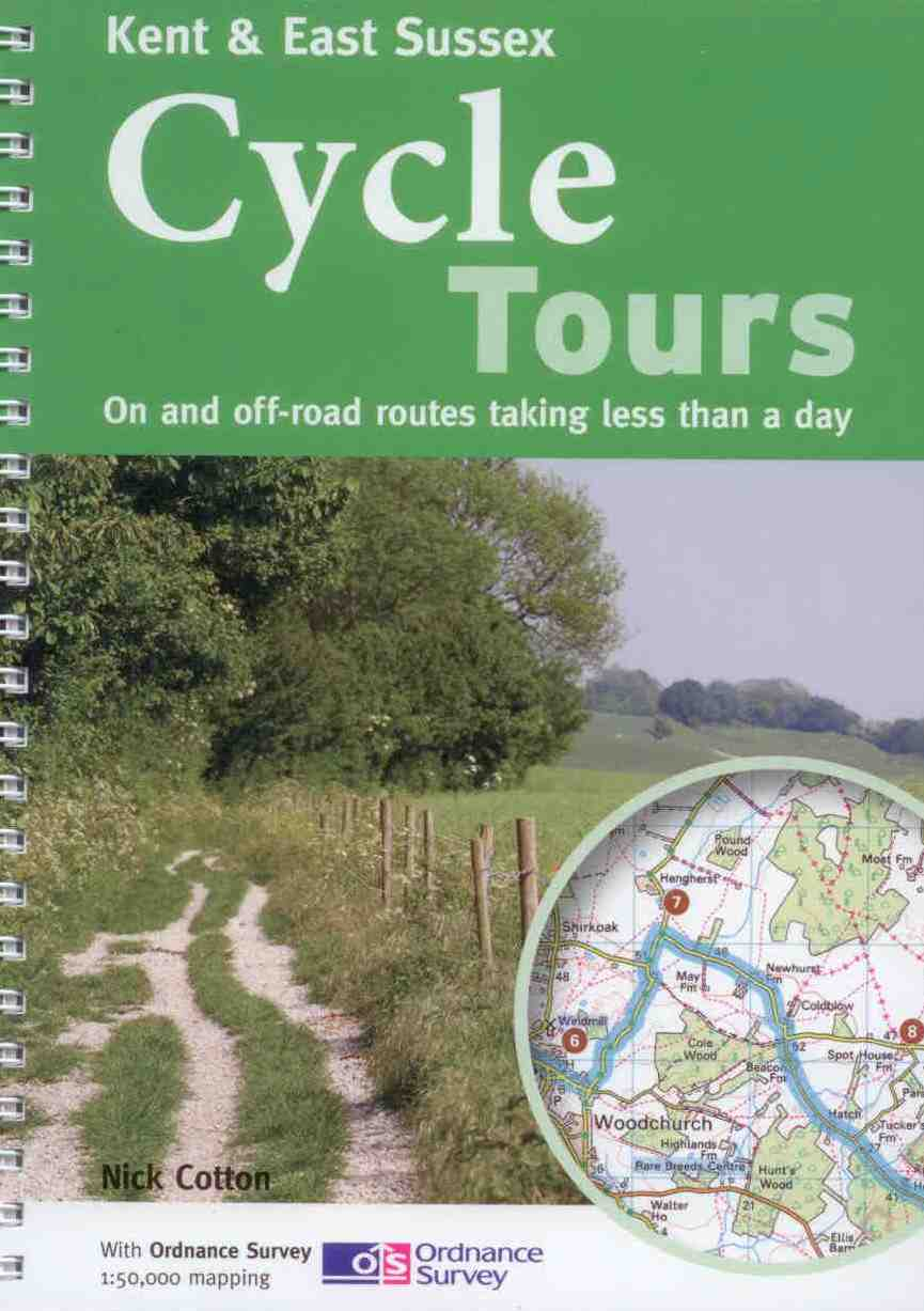 Kent cycle route maps and guide books