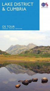 Lake District Ordnance Survey Tour Map