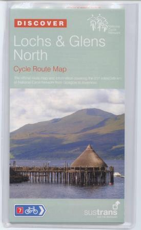 Lochs & Glens North Map, Sustrans