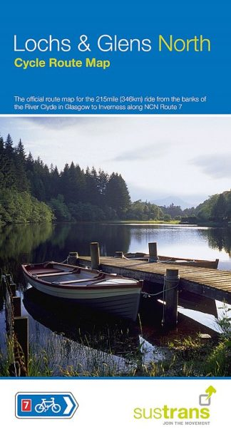 Lochs & Glens North Sustrans Cycle Map