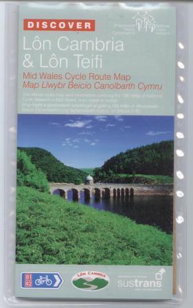 Lon Cambria and Lon Teifi Sustrans Map