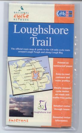 Loughshore Trail Sustrans map
