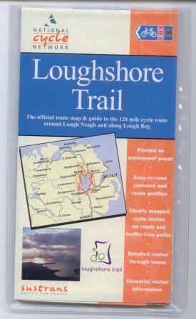 Loughshore Trail Sustrans map