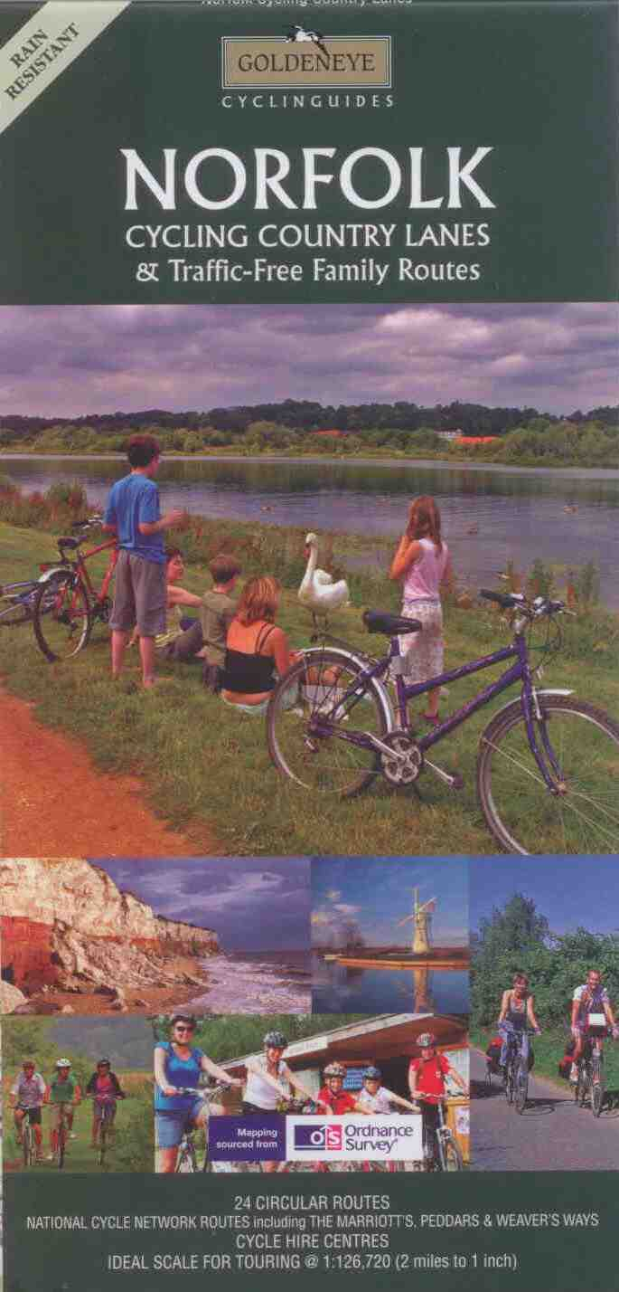Norfolk cycle route maps and guide books