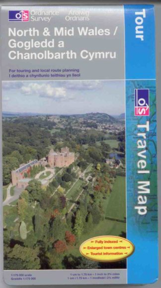 Wales long-distance cycle route maps and guide books