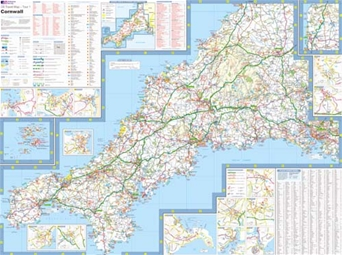 Ordnance Survey - Cornwall detail