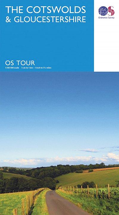 Ordnance Survey - Cotswolds & Glos