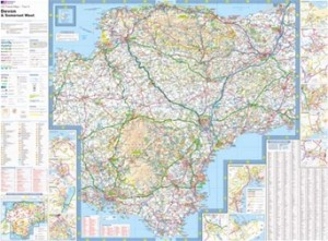 Ordnance Survey - Devon & Somerset West Tour Map