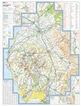 Ordnance Survey - Lake District & Cumbria detail