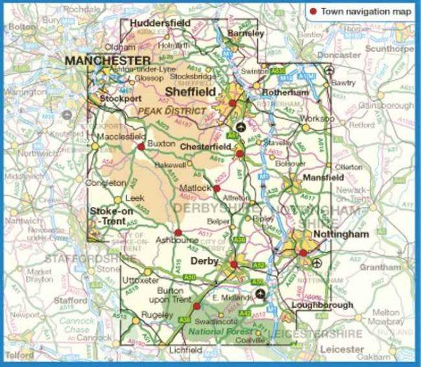 Ordnance Survey - Peak District & Derbyshire routes