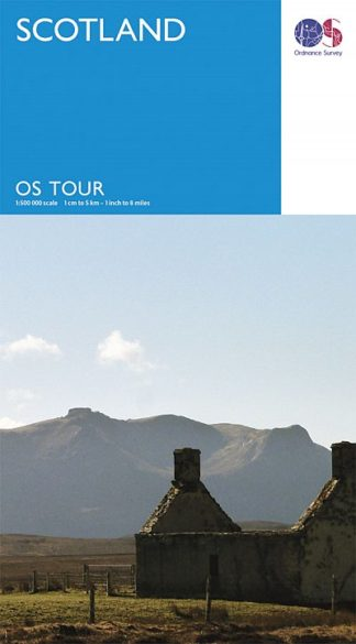 Ordnance Survey - Scotland Tour map 12