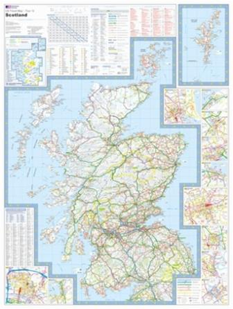 UK cycle maps and guide books - Scotland