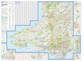 Ordnance Survey - South & Mid Wales