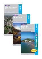 Ordnance Survey cycle maps and guide books