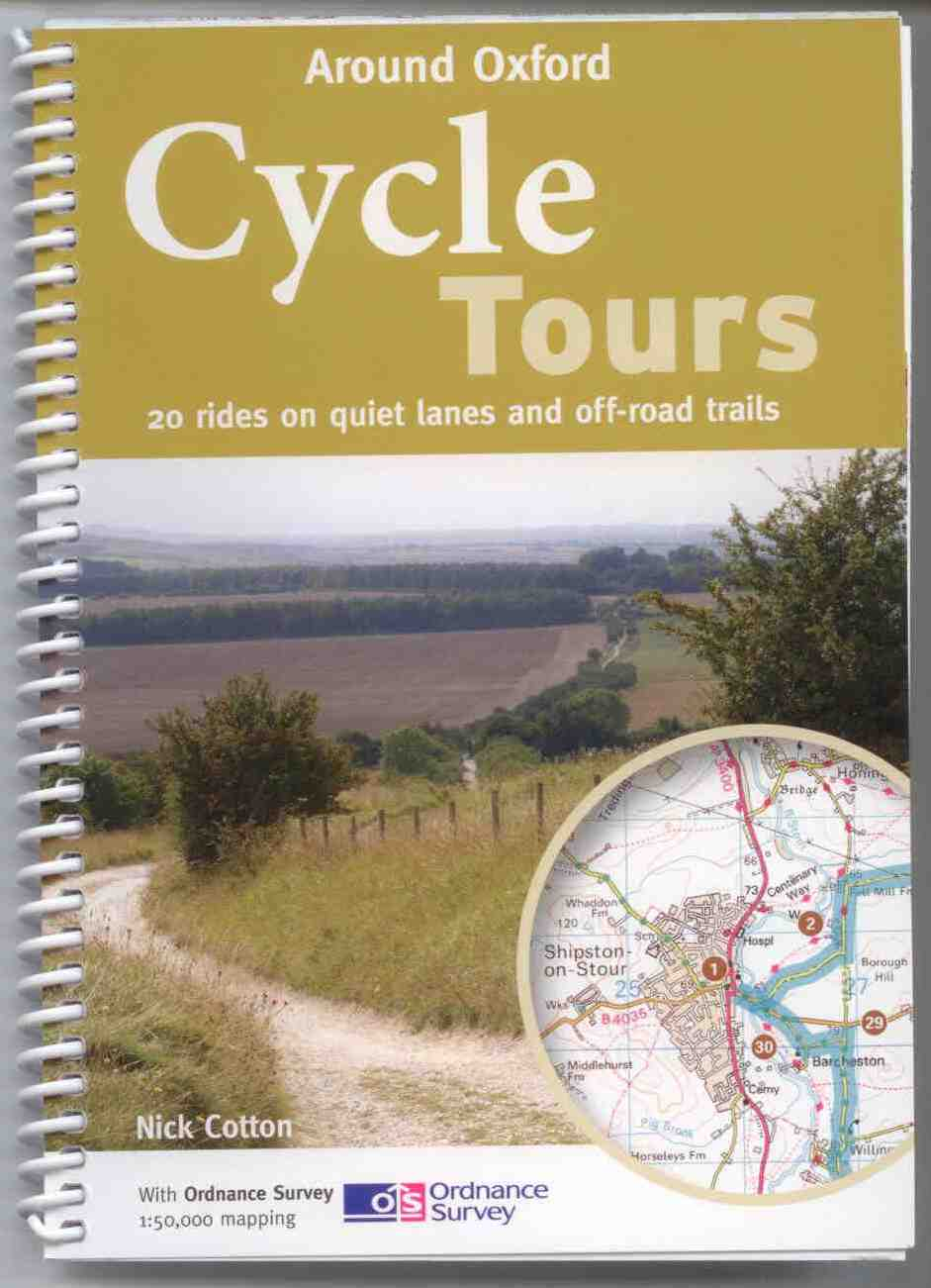 Oxfordshire cycle route maps and guide books