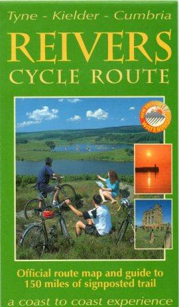 Reivers Cycle Route map and guide book