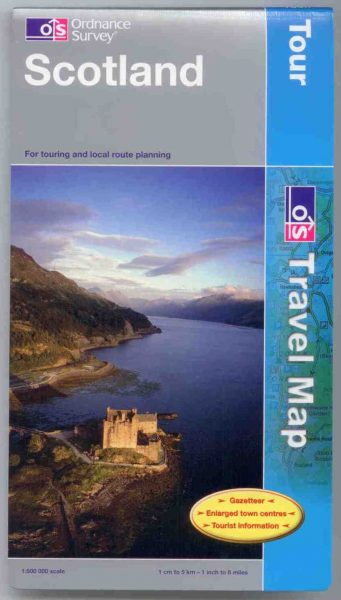 Scotland Ordnance Survey Tour Map