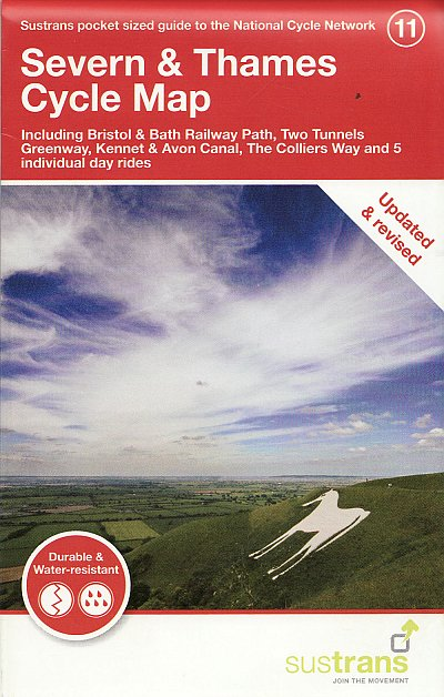 Severn and Thames Sustrans cycle map 11